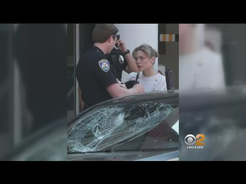 Son Of Actress Jaime King Struck By Glass After Vandal Attacks Car In Beverly Hills
