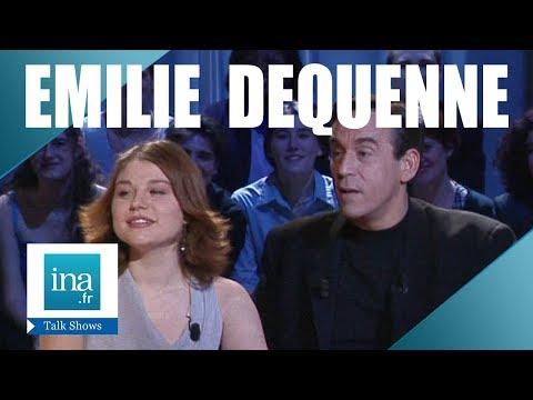 première fois Emilie Dequenne  Archive INA