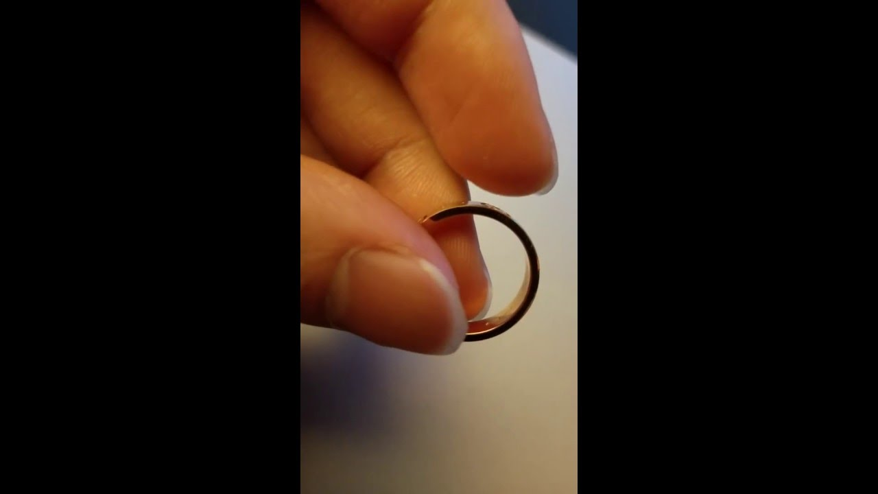 fb5625b29 Gucci Gold Ring - YouTube
