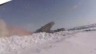 Artillery Live-Fire Drills In Russia's Orenburg Region