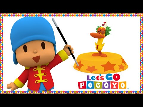 Let's Go Pocoyo! - Circus [Episode 45] in HD