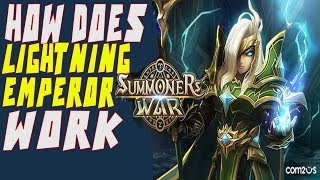 How Lightning Emperor Works - Summoners War