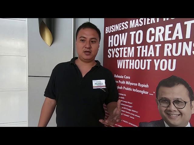 Testimonial De Mata William Ardiyanto - Testimoni Profit Max
