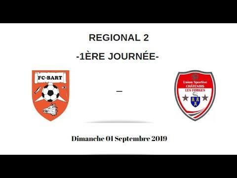 F.C. Bart - U.S Chatenois (1-1) - Résumé (Régional 2)