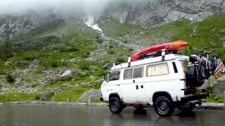 Repeat youtube video VW T3 Syncro Vanagon summer tour of Europe 2012 Part 3