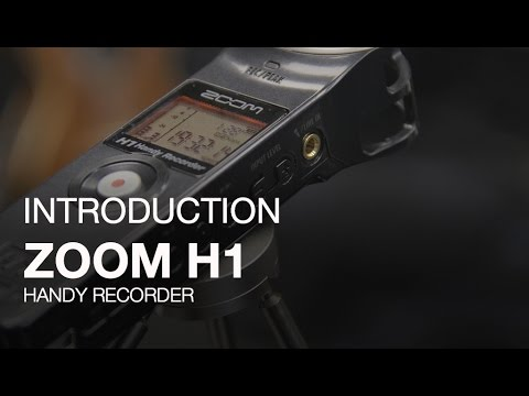 Zoom H1 Handy Recorder | Zoom