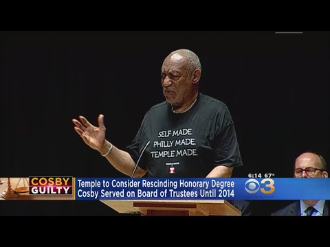 Temple To Consider Rescinding Cosby Honorary Degree