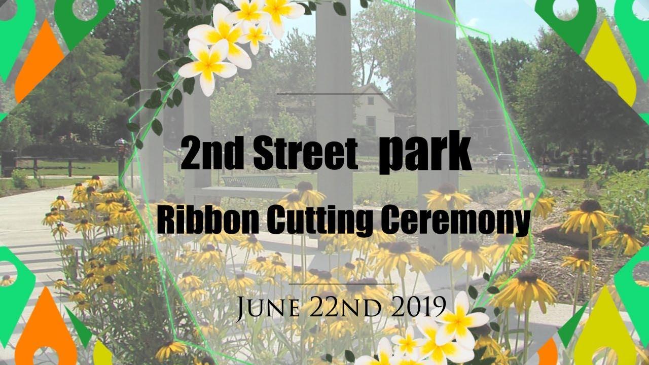 City Of Winston Salem >> 2nd Street Park Ribbon Cutting Ceremony City Of Winston Salem