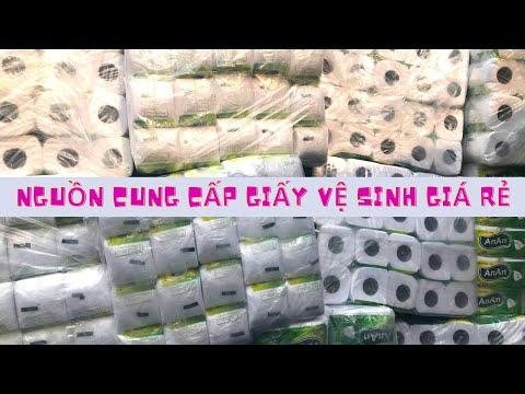 Nguồn Hàng lấy giấy vệ sinh giá rẻ, chất lượng tại TpHCM