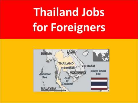 Thailand Jobs for Foreigners