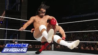 Diego & El Torito vs. Bo Dallas - 2-on-1 Handicap Match: SmackDown, July 11, 2014