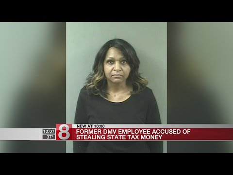 Former DMV employee accused of stealing state tax money
