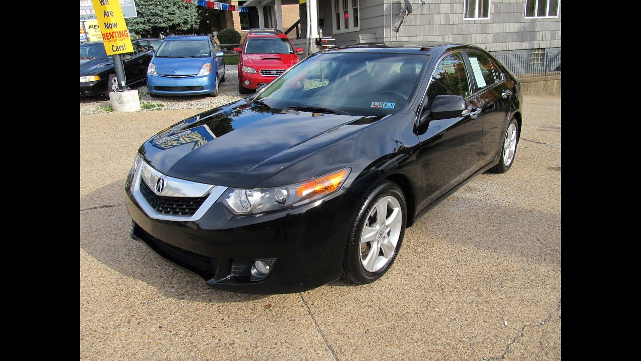 Acura TSX RARE Speed W Tech Elite Auto Outlet Bridgeport - Acura tsx manual transmission for sale