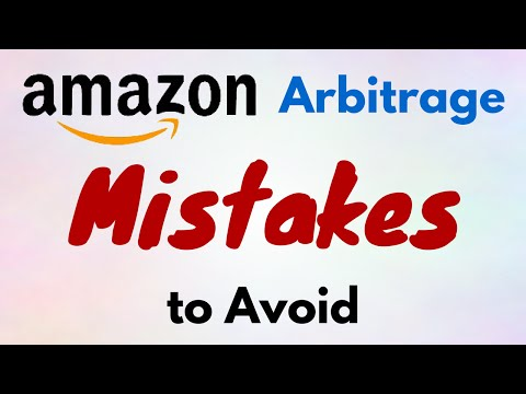 Amazon FBA Arbitrage - Mistakes to Avoid for Resellers