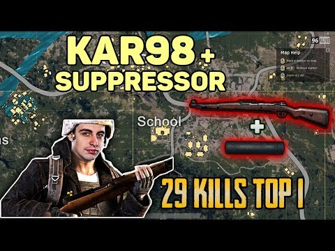 KAR98 + SUPPRESSOR - Shroud and Chad win DUO FPP [NA] - PUBG Highlights top 1