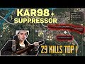 KAR98 + SUPPRESSOR - Shroud and Chad win DUO FPP [NA] - PUBG Highlights top 1 #32