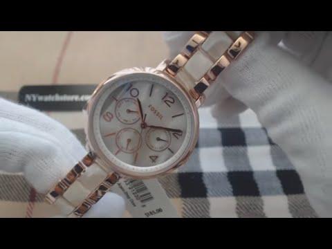 Women's Fossil Jacqueline Multifunction Steel Watch ES3921