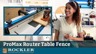 Setting Up Rockler ProMax Router Table Fence