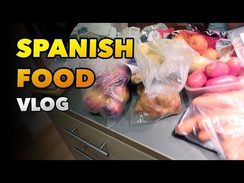 SUPERMARKET SPANISH FOOD - LIFESTYLE DAILY VLOG BARCELONA #69