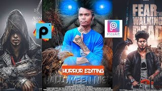 Picsart editing new tutorial 2018||picsart new style editing  || horror editing tutorial  new