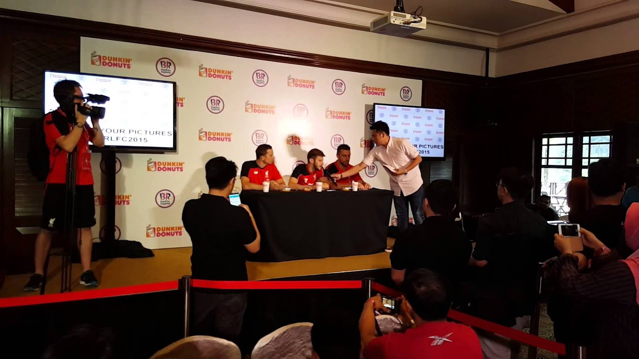 220715 Liverpool Fc Meet And Greet In Malaysia Interview With Adam