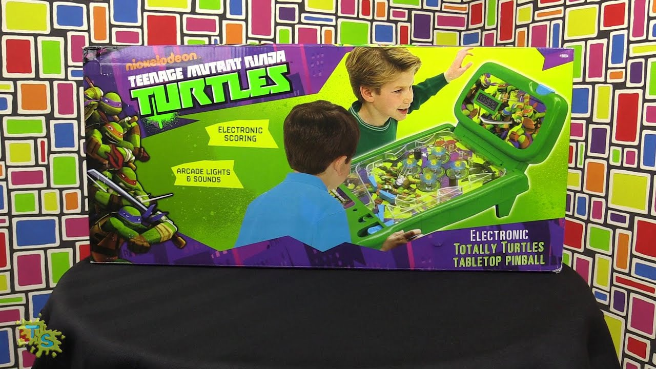Teenage Mutant Ninja Turtles Pinball Review - YouTube