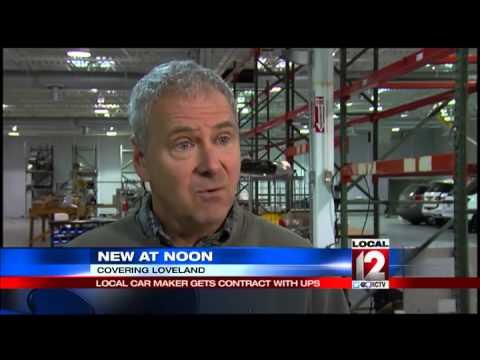 Loveland's AMP to provide electric trucks for UPS