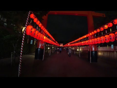 Mystery World Night of Kyoto Fushimi Inari Shrine