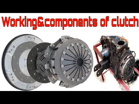 Components Of Clutch | Clutch | Working of Clutch |  Car Clutch Disc |Explanation  | Mechanic Siva