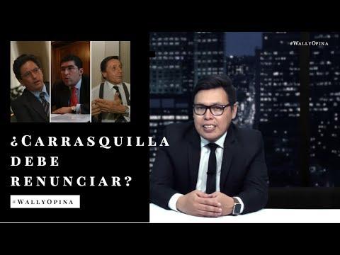 ¿CARRASQUILLA DEBE RENUNCIAR? - #WALLYOPINA