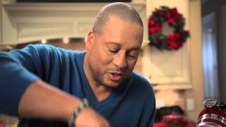 Pat Neely's Turned-up Buffalo Chicken Dip