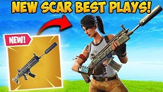 *NEW* SILENCED SCAR IS BROKEN! - Fortnite Funny Fails and WTF Moments! #318