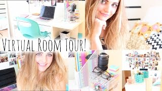 Virtual Room Tour! See My New Room! | Aspyn Ovard