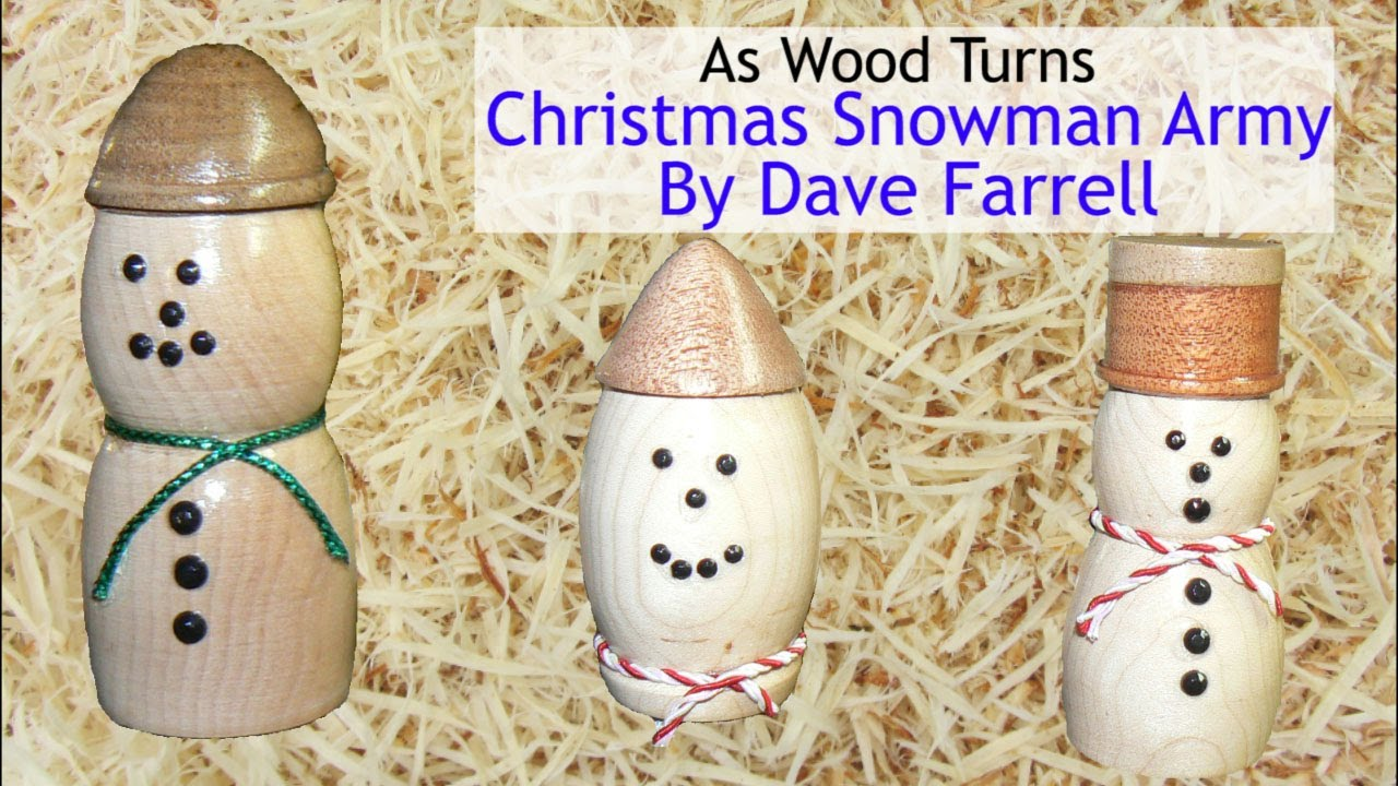 Christmas Ornament Woodturning Challenge - Dave Farrell ...