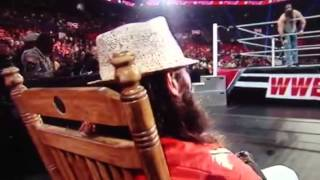 The Wyatt Family Attacks R Truth & Cuts Promo - RAW July 15