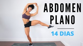 ABDOMEN PLANO EN 14 DIAS | Abdominales de pie | Reducir cintura rapidamente | Fitness by Vivi