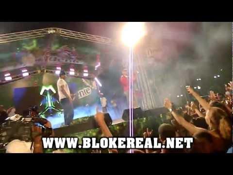 Jowell y Randy Presentacion En El Carnaval De Santiago 2012 (Parte 2)