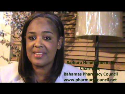 Year End Address  - Bahamas Pharmacy Council Chairman