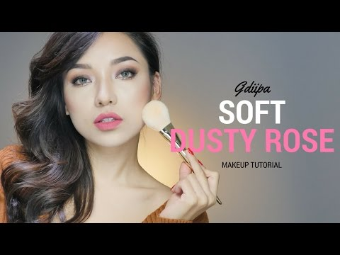 GRWM - Soft Rose Gold Nude Makeup | GDiipa