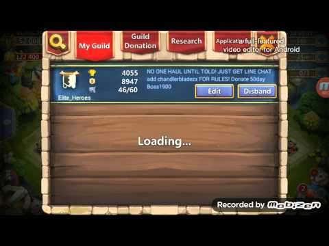 Castle Clash! Great Android Guild!