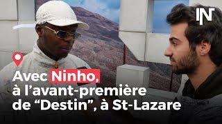"""Avec Ninho à l'avant-première de son album """"Destin"""" gare Saint-Lazare"""