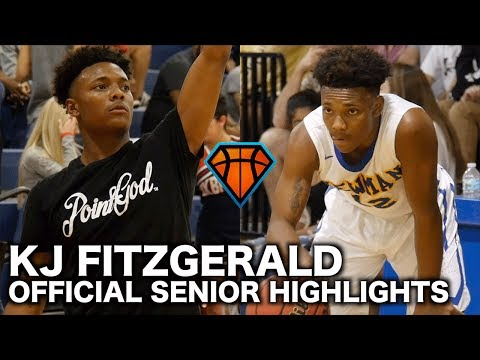 KJ Fitzgerald Is An UNBELIEVABLE Floor General!! | Official Senior Highlights