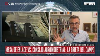Entrevista a Alejandro Vanoli en Minuto Uno