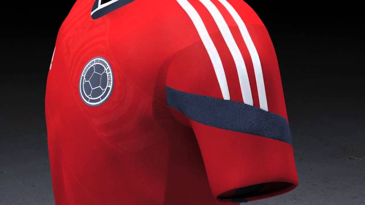 Colombia away kit World Cup 2014 adidas - YouTube 3a336658c