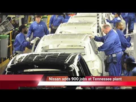 Nissan Smyrna Tn >> Nissan adding 900 new jobs at Smyrna, TN, auto plant - YouTube