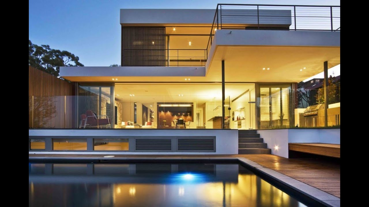 Exceptionnel Luxury Home Design U0026 Floor Plan : Warringah House By Corben Architects    YouTube