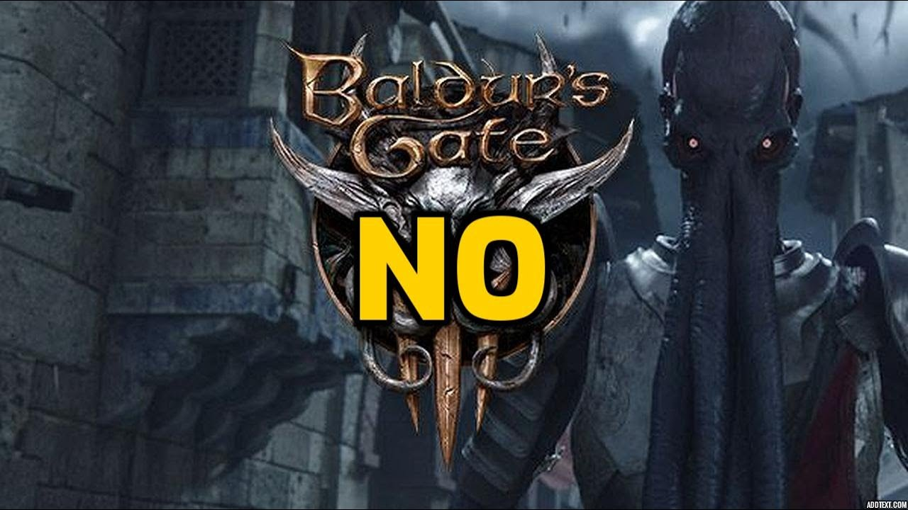 Baldur S Gate 3 Gameplay This Is Not A Baldur S Gate Game Disappointed Youtube