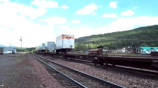 Train BNSF - Williams AZ.MOV
