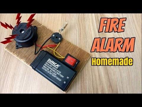 How to make a fire alarm system homemade youtube how to make a fire alarm system homemade solutioingenieria Image collections