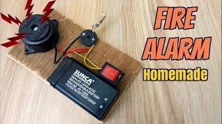 Wie man einen Feuer-Alarm-System - Hausgemachte
